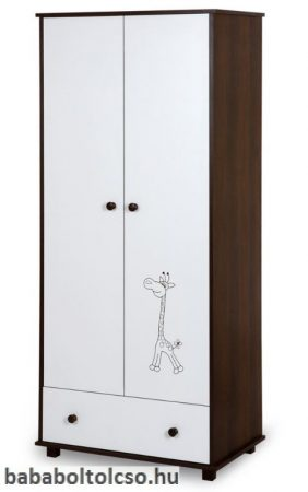 Klups Safari zsiráf állószekrény 2 ajtós