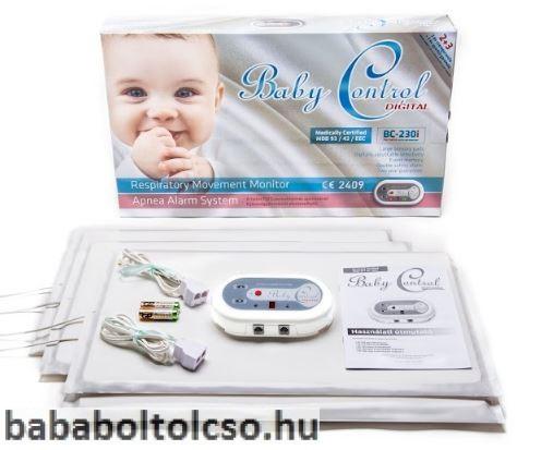 Baby Control BC 230i légzésfigyelő ikreknek
