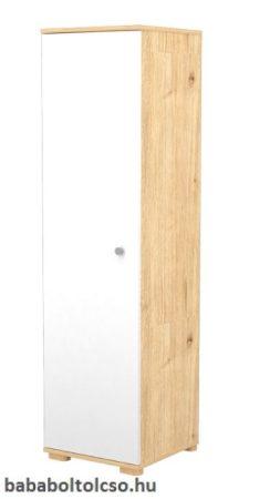 Timba 1 Ajtós álló szekrény FANNI Mandula - fehér