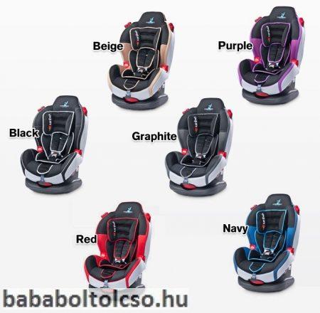 Caretero Sport Turbo 9-25 kg autósülés **Piros**