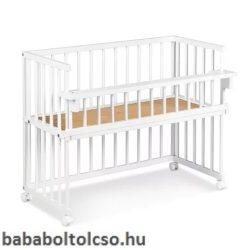 Klups Piccolo Due 95x45 cm baba-mama kiságy fehér