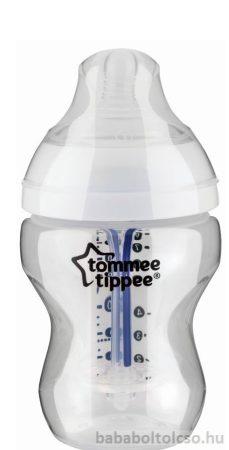 Tommee Tippee Közelebb a természeteshez BPA-mentes Anti-colic plus cumisüveg  260ml