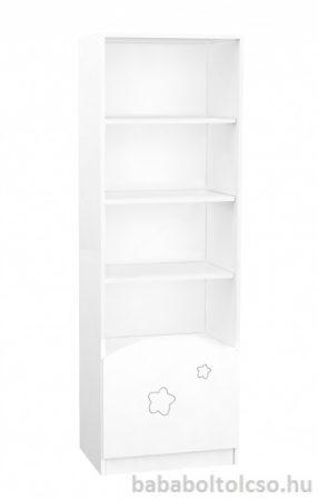 Timba FÉLIX csillagos álló szekrény középső elem fehér