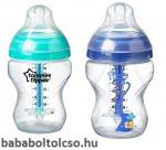 TommeeTippee Advanced Anti-colic cumisüveg 260 ml kék