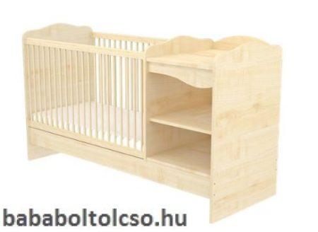Nyitott kombinált gyermekágy LILI -Juhar