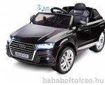 Audi Q7 elektromos kisautó - fekete