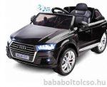 Audi Q7 elektromos kisautó fekete RENDELHETŐ