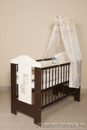 Kinder Möbel SAVANNA 60x120 cm kiságy ágyneműtartóval
