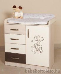 Kinder Möbel BONANZA pelenkázó szekrény KÉSZLETHIÁNY