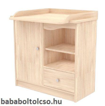 Timba NIKI 90-es pelenkázó szekrény borostyán