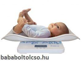 Momert 6426 digitális baba- és gyerekmérleg