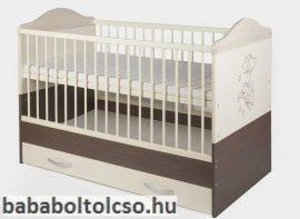 Kinder Möbel BONANZA 70x140 cm kiságy ágyneműtartóval