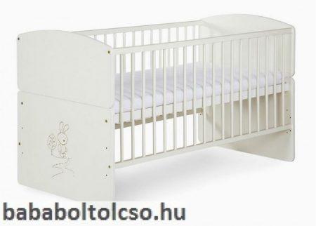 Klups Nyuszis babaágy 70x140 cm * ágyneműtartó nélkül