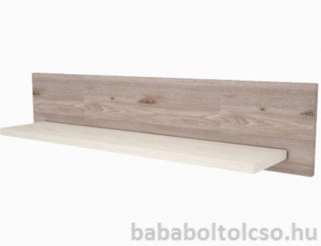 Timba VIKI 800-as egyenes falipolc krém-fűz