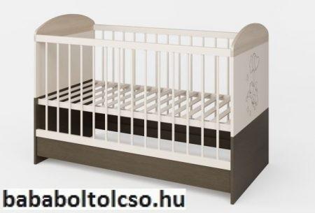 Kinder Möbel BONANZA 70x140 cm kiságy KÉSZLETHIÁNY