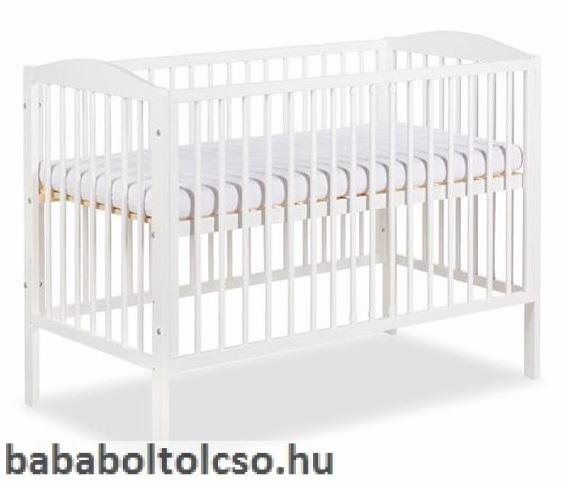 Klups Radek II kiságy 120x60 fehér bialy - Bababolt Csepel 5ef64005d7