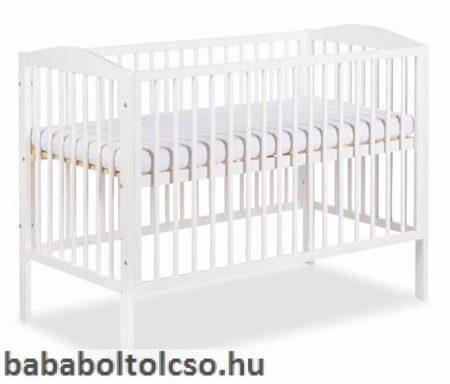 Klups Radek II 60x120 cm kiságy fehér