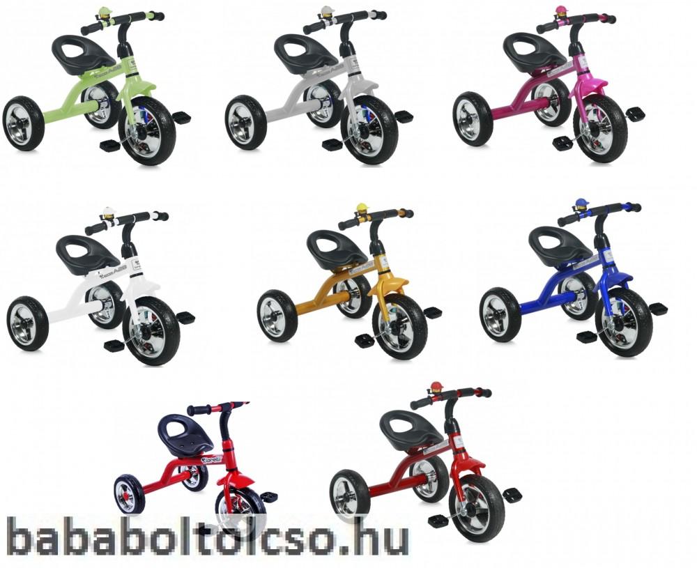 Lorelli A28 tricikli - fehér - Bababolt Csepel 1ebf2a3a10