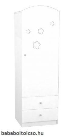 Timba Csillagos álló szekrény jobb elem FÉLIX - Fehér