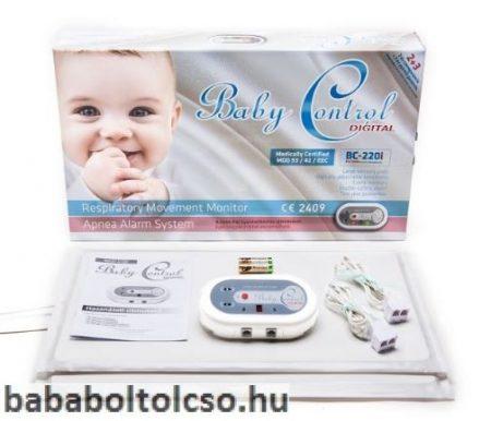 Baby Control BC 220i légzésfigyelő ikreknek