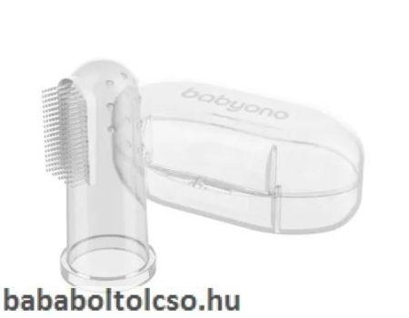 BabyOno ínymasszírozó és ujjrahúzható fogkefe