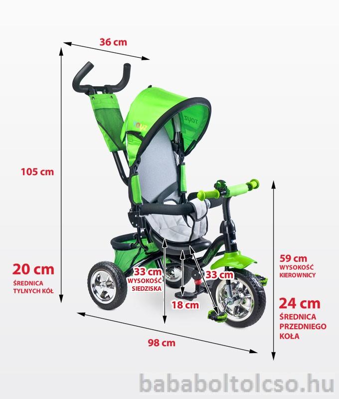 Toyz Timmy multifunkciós tricikli Több színben  RENDELÉSRE ... 178ae19332