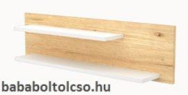 Timba FANNI 1000-es Duplapolcos falipolc  Mandula-fehér
