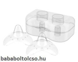 BabyOno szilikon mellbimbóvédő dobozkával több méret