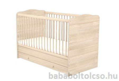 Átalakítható 140x70 cm gyermekágy*Borostyán*
