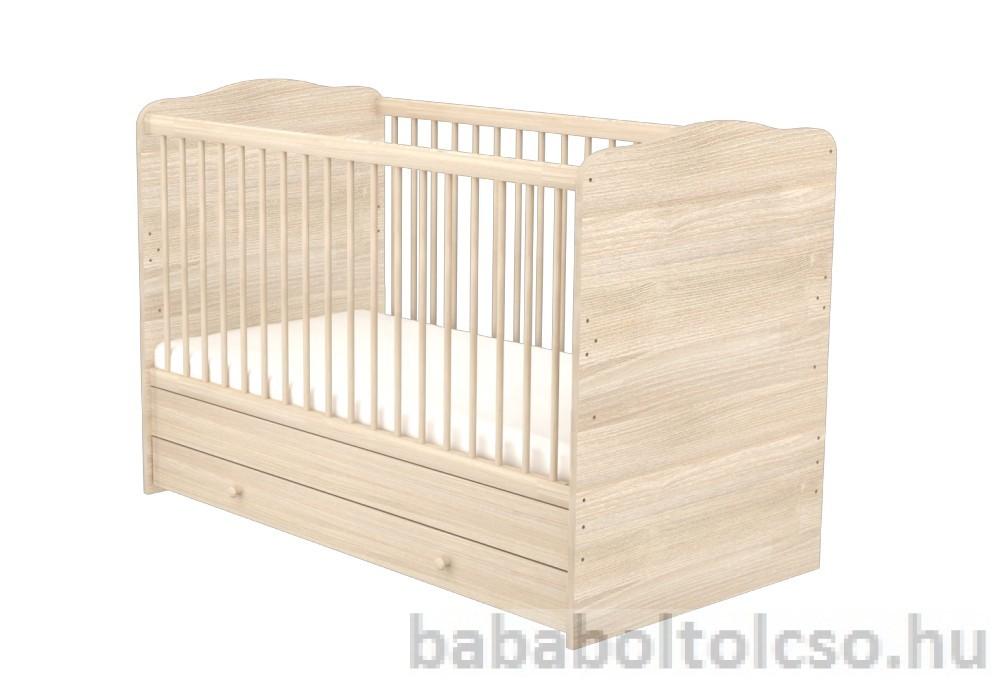 Átalakítható 140x70 cm gyermekágy Borostyán  - Bababolt Csepel ... 51696c1f15