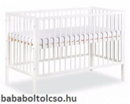 Klups Radek X 60x120 cm kiságy fehér ELFOGYOTT