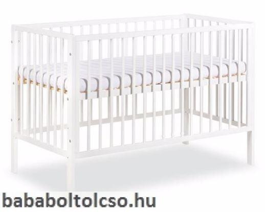 Radek X kiságy 60x120 fehér - Bababolt Csepel 0418574622