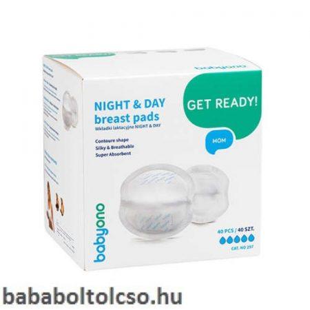 BabyOno Night&Day ultranedvszívó melltartóbetét 40 db
