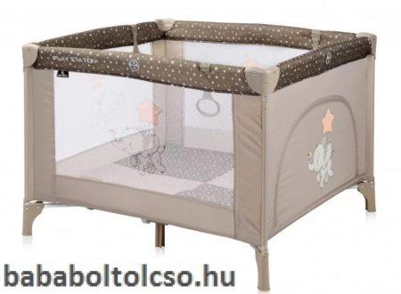 Lorelli Play Station Járóka- Beige Elephant 2020