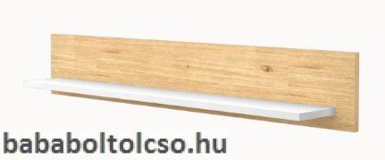 Timba FANNI 800-as Egyenes falipolc Mandula-fehér