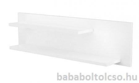 Timba FÉLIX 1000-es duplapolcos falipolc fehér